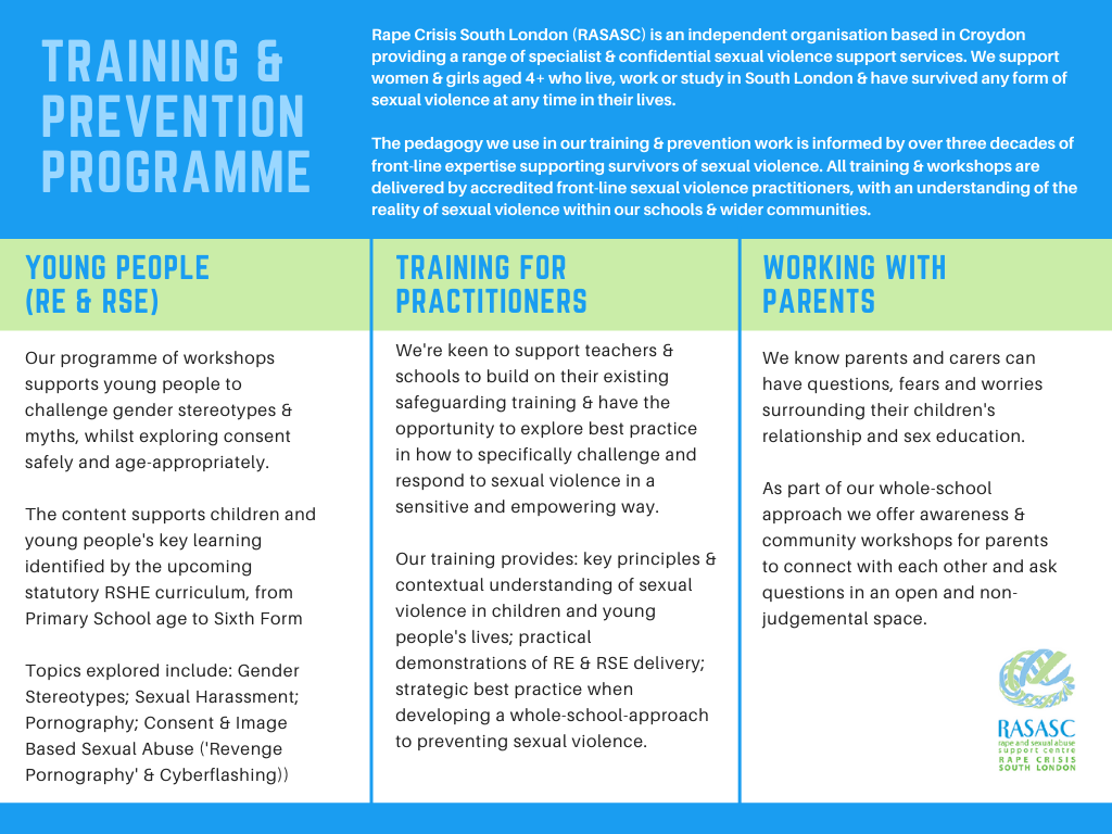 RASASC Training and Prevention Programme